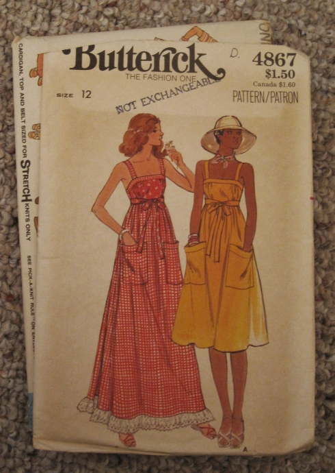vintage sundress pattern